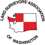 Land Surveyors' Association of Washington Logo