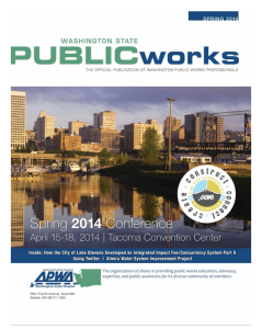 Washington state Public Works article