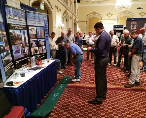 Belsby Tradeshow Booth Putting Green